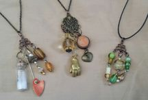 Baubles / Jewelry and other beaded things and wearable accessories. Some by me, some by others.