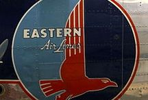 Eastern Airlines  / Eastern Airlines history, picture, and items for sale related to Eastern Airlines for collectors and those new to this late, iconic American airline.  / by Kenneth Coxie