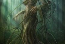 demony, upiory, wił,  strzygi i syreny