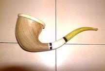 handmade calabash pipe