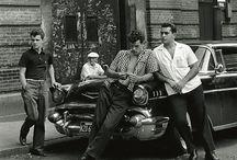 Italy street style 50s