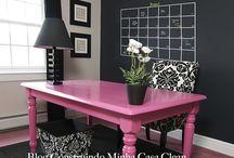 Quadro Negro ou Lousa na Decoração! / Veja + Inspirações e Dicas de decoração no blog!  www.construindominhacasaclean.com