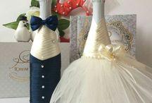 Svadobne a gratulačne flaše