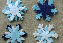 snowflake felt