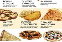 tipos de pizzas