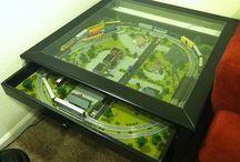 model trains / by Jeannine Porter
