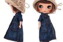 洋服  人形