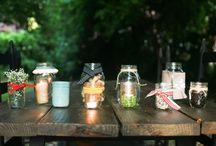 mason jars / by Lundyn Briggs