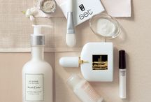 skin care products styling