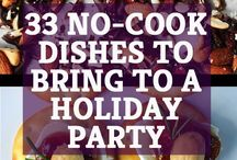 Holiday Party Dishes