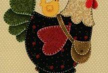 Trabalhos em patchwork / by Livia Lopex