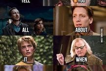 Harry Potter/The Hunger Games