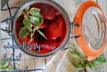 farmstead strawberry basil cordial