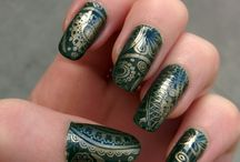 My Manicures / Pictures of my manicures. I love nail art, OPI, Moyou London. These are my natural nails, painted myself. :)