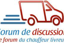 Forum du chauffeur livreur