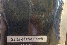 Salts of the Earth / Come stop by the shoppe and taste the selection of Salts of the Earth products we are now currently carrying.