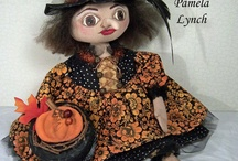 Witch Doll & Craft Creations / I just LOVE handmade witches of every size and type. Cloth, wood, porcelain, ceramic, paper-clay, paper, and painted  - it doesn't matter. Country ones, folk-art, Victorian, primitive, scary, pleasant - it doesn't matter. I LOVE them all. I hope you like my selection of witches.
