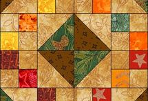 Quilt..bloques / by Mirna Infante Cespedes