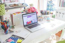Decoração Home Office / Inspire-se em ideias lindas e deixe seu escritório de casa com a sua cara. http://www.tudoit.net / Instagram: @tudoitoficial / Facebook: https://www.facebook.com/lojatudoit