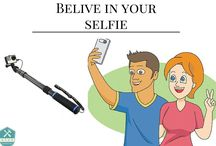 Perfect selfie stick / The selfie stick appeared due to the fact that the quality of mobile phone camera increased in the past years and because when we are in a trip, we are reluctant to give our devices to some strangers to take us some pictures and we choose to take a selfie. Due to its high awareness among people, now we can find a selfie sticks at every street corner but also on stores with special devices. From the multitude of variant, we must choose the one that best suits for us.