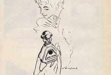 Vintage ads / Винтажная реклама ароматов