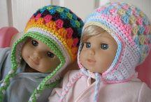 Crochet- baby - toddler hats