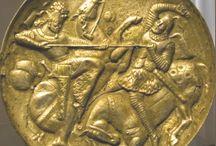 The Sassanian Empire  (224-651AD) /    art and history