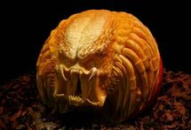 Amazing Halloween Pumpkins / Ray Villafane and other amazing craver's pumpkin creations. Awesome and scary.