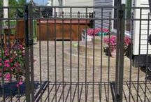 Swimming Pool Fence Driveway Gates