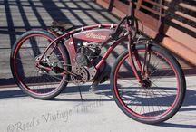 vintage motor bike