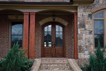 Front Entry Doors / Vision carries both forged iron doors and mahogany doors