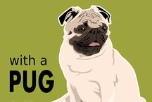 Pets - Pug / The pure pleasure of having a pug (or two) in your life!