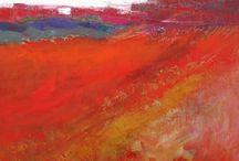 Landscape / landscape art / by Carolyn Berkowitz