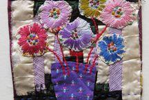 Illuminating embroidery course - my aspirations / by Rachel Roxburgh
