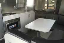 Airstream 22' Sport / One of my favorite floorplans and design style.