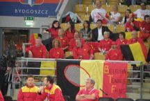 Mecz Poska - Belgia / Puchar Federacji - mecz Polska Belgia, Bydgoszcz 6-7.02.2015 r.