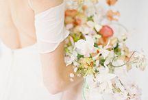 Modern + Minimalist Wedding Inspiration / Fine Art Wedding Photography Inspiration. Modern and Minimalist White Wedding in Loft space using Fuji 400h Film.