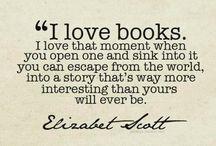 Books / Never trust anyone whose TV is bigger than their bookshelf.