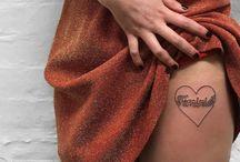 GRL PWR tattoos