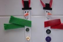 craft snow man
