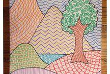 rajz vonalakból