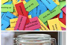 kids fun and organisation ideas