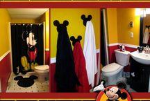 Disney Bathroom / by Jennette Golder