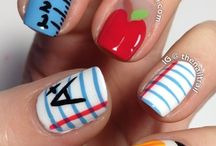 teenage nail art designs by nded / teenage nail art designs by nded