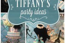 Tiffany's party ideas