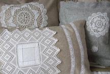 Embellished cushions