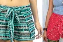 modelagem shorts
