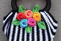 Crochet - Purses, Bags, etc. / by Linda Sanders