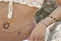 Temporary Metallic Tattoos / We have the hottest accessory of the year! Temporary metallic Tattoos. Flaunt your Flash!