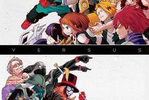 Anime and manga Boku no Hero Academia